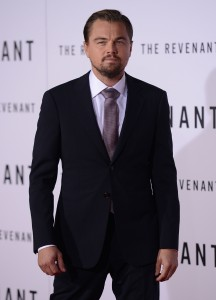Leonardo DiCaprio attends The Revenant Premiere in Los Angeles held at TCL Chinese Theatre, Hollywood Blvd on January 16, 2016.