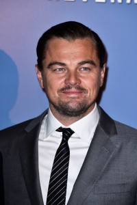 Leonardo DiCaprio attends the French premiere of The Revenant held at Le Grand Rex in Paris on January 18, 2016.