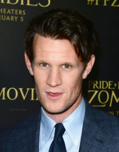 Matt Smith attends the Los Angeles premiere of Pride and Prejudice and Zombies held at Harmony Gold Theatre, Sunset Blvd on January 21, 2016.