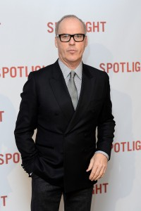 Michael Keaton attends the UK premiere of Spotlight held at Curzon Mayfair, London on January 20, 2016.
