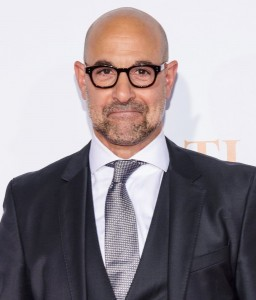 Stanley Tucci attends the New York City premiere of Spotlight held at the Ziegfeld Theatre on October 27, 2015.