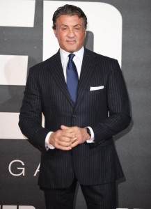 Sylvester Stallone attends the UK film premiere of Creed held at Empire Cinema, Leicester Square on January 12, 2016.