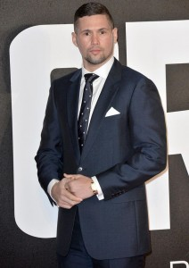 Tony Bellew attends the UK film premiere of Creed held at Empire Cinema, Leicester Square on January 12, 2016.