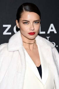 Adriana Lima attends the Zoolander No.2 premiere in New York City.