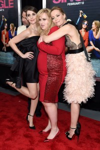 Alison Brie, Rebel Wilson & Leslie Mann attends the How To Be Single Premiere in New York held at NYU Skirball Center, NYC on February 3, 2016.