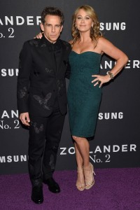 Ben Stiller & Christine Taylor attend the Zoolander No.2 premiere in New York City.