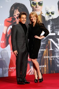 Ben Stiller & Christine Taylor attend the Berlin premiere of Zoolander No. 2 held at Cinestar Cinema, Germany on February 2, 2016.