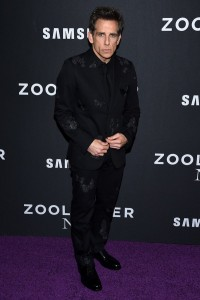 Ben Stiller attends the Zoolander No.2 premiere in New York City.