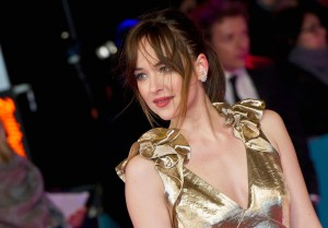 Dakota Johnson attends How to Be Single - European premiere in London at Vue West End, Leicester Square.