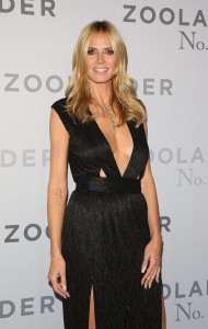 Heidi Klum attends the Australian premiere of Zoolander No. 2 held at State Theatre in Sydney on January 26, 2016.