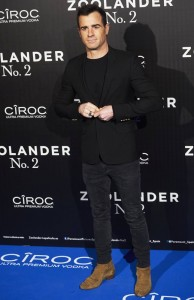 Justin Theroux attends the Spain premiere of Zoolander No. 2 held at Capitol Cinema, Madrid on February 1, 2016.
