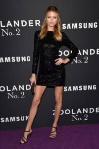 Martha Hunt attends Zoolander No.2 premiere in New York City.
