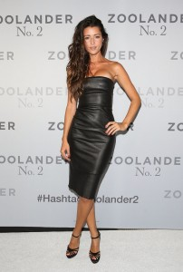 Michelle Leslie attends the Australian premiere of Zoolander No. 2 held at State Theatre in Sydney on January 26, 2016.