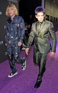 Owen Wilson & Ben Stiller walk the runway during Zoolander No.2 premiere as their characters Hansel and Derek.
