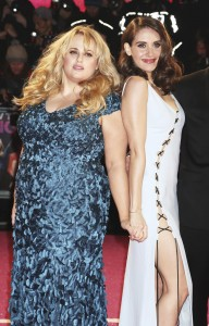 Rebel Wilson & Alison Brie attend How to Be Single - European premiere in London at Vue West End, Leicester Square.