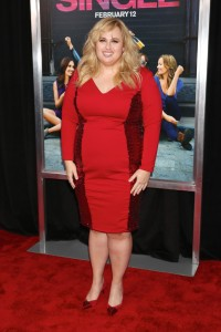 Rebel Wilson attends the How To Be Single Premiere in New York held at NYU Skirball Center, NYC on February 3, 2016.