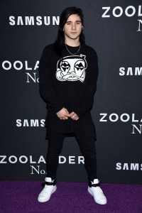 Skrillex attends Zoolander No.2 premiere in New York City.