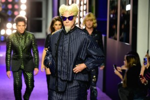 Will Ferrell walks the runway at the Zoolander No.2 premiere in New York City.