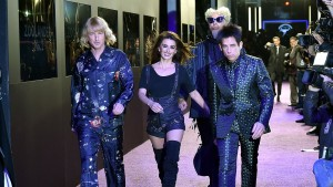Zoolander No.2 Cast walk the runway at the New York City premiere
