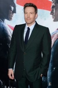 Ben Affleck at the New York film premiere of Batman v Superman: Dawn of Justice held at Radio City Music Hall, NYC on March 20, 2016.