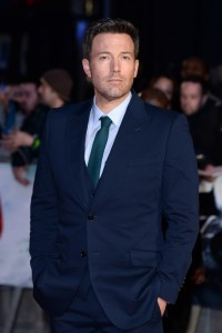 Ben Affleck attends the European film premiere of Batman v Superman: Dawn of Justice held at Empire and Odeon cinemas, Leicester Square, London, England, UK on March 22, 2016. (Red Carpet Arrivals)