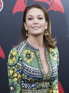 Diane Lane at the New York film premiere of Batman v Superman: Dawn of Justice held at Radio City Music Hall, NYC on March 20, 2016.