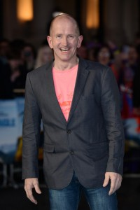 Eddie Edwards at the European film premiere of Eddie the Eagle held at Odeon, Leicester Square, London on March 17, 2016.