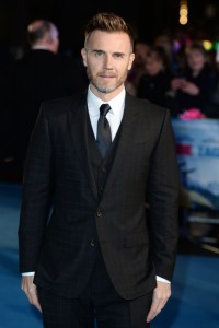 Gary Barlow at the European film premiere of Eddie the Eagle held at Odeon, Leicester Square, London on March 17, 2016.