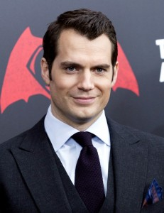 Henry Cavill at the New York film premiere of Batman v Superman: Dawn of Justice held at Radio City Music Hall, NYC on March 20, 2016.