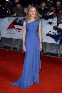 Holly Hunter attends the European film premiere of Batman v Superman: Dawn of Justice held at Empire and Odeon cinemas, Leicester Square, London, England, UK on March 22, 2016. (Red Carpet Arrivals)