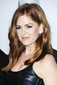 Isla Fisher attends The Brothers' Grimsby premiere in Los Angeles held at Regecncy Village Theatre, Westwood, California.