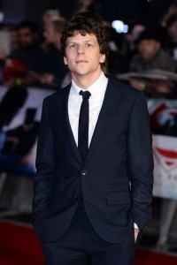 Jesse Eisenberg attends the European film premiere of Batman v Superman: Dawn of Justice held at Empire and Odeon cinemas, Leicester Square, London, England, UK on March 22, 2016. (Red Carpet Arrivals)