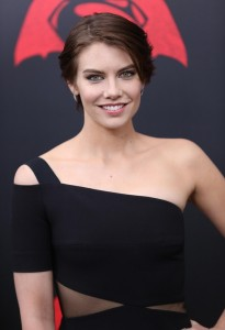 Lauren Cohan at the New York film premiere of Batman v Superman: Dawn of Justice held at Radio City Music Hall, NYC on March 20, 2016.