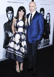 Liza Marshall & Mark Stron attends The Brothers' Grimsby premiere in Los Angeles held at Regecncy Village Theatre, Westwood, California.