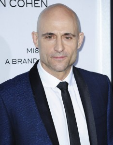 Mark Strong attends The Brothers' Grimsby premiere in Los Angeles held at Regecncy Village Theatre, Westwood, California.