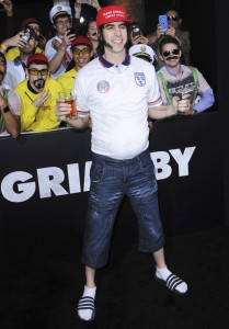Sacha Baron Cohen attends The Brothers' Grimsby premiere in Los Angeles held at Regecncy Village Theatre, Westwood, California.