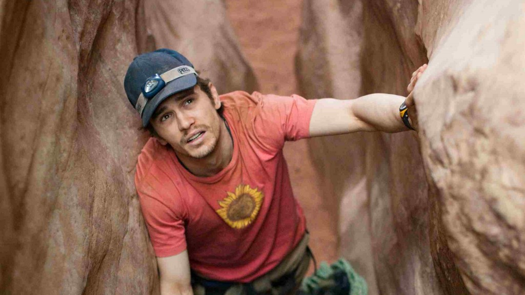 127 Hours stills from movies based on a true story