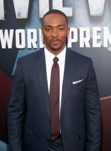 Anthony Mackie at the world premiere of Captain America: Civil War held at the Dolby Theatre, Hollywood Blvd, CA on April 12, 2016.