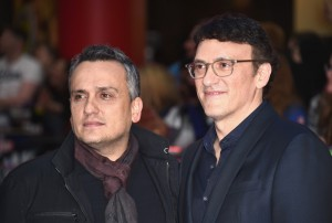 Anthony and Joe Russo at the Captain America: Civil War European Premiere held at Westfield, London, Shepherds Bush on April 26, 2016.