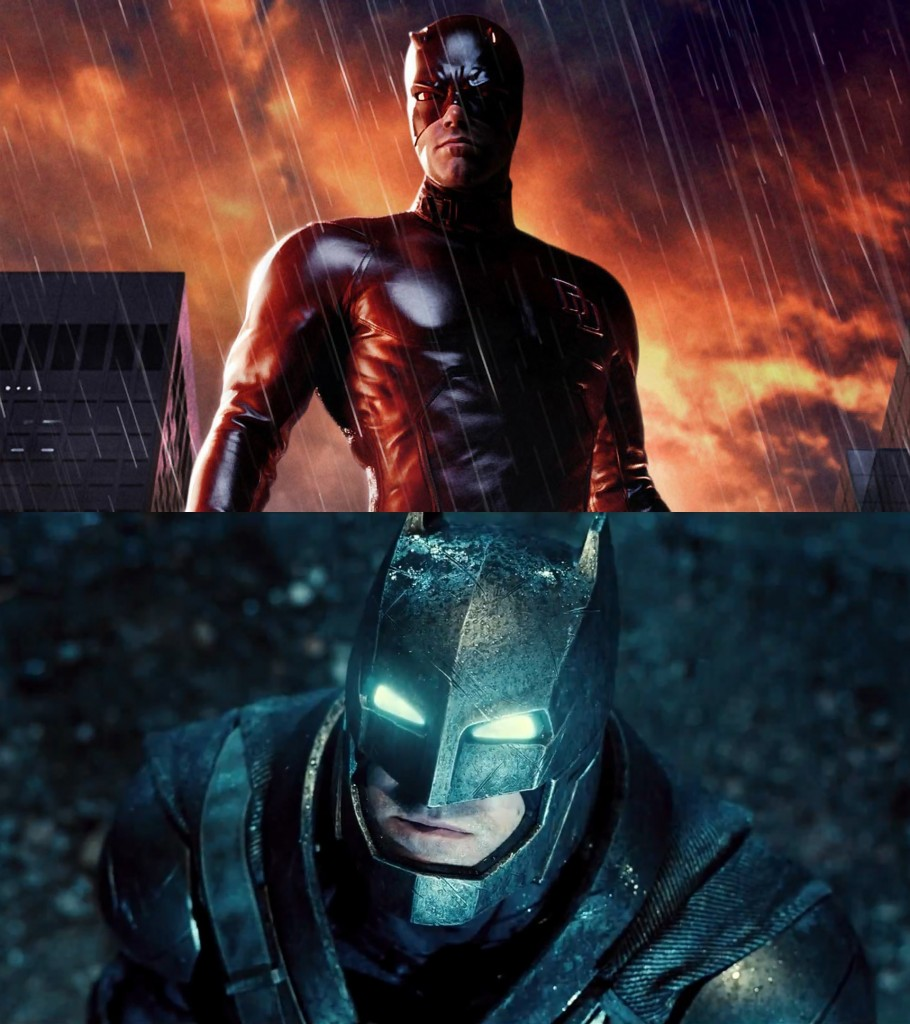 Ben Affleck as Daredevil and Batman - Actors who have played more than one superhero