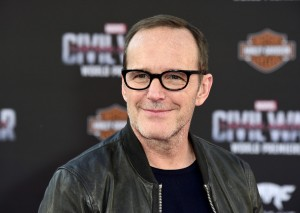 Clark Gregg at the world premiere of Captain America: Civil War held at the Dolby Theatre, Hollywood Blvd, CA on April 12, 2016.
