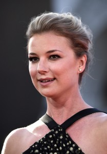 Emily VanCamp at the world premiere of Captain America: Civil War held at the Dolby Theatre, Hollywood Blvd, CA on April 12, 2016.