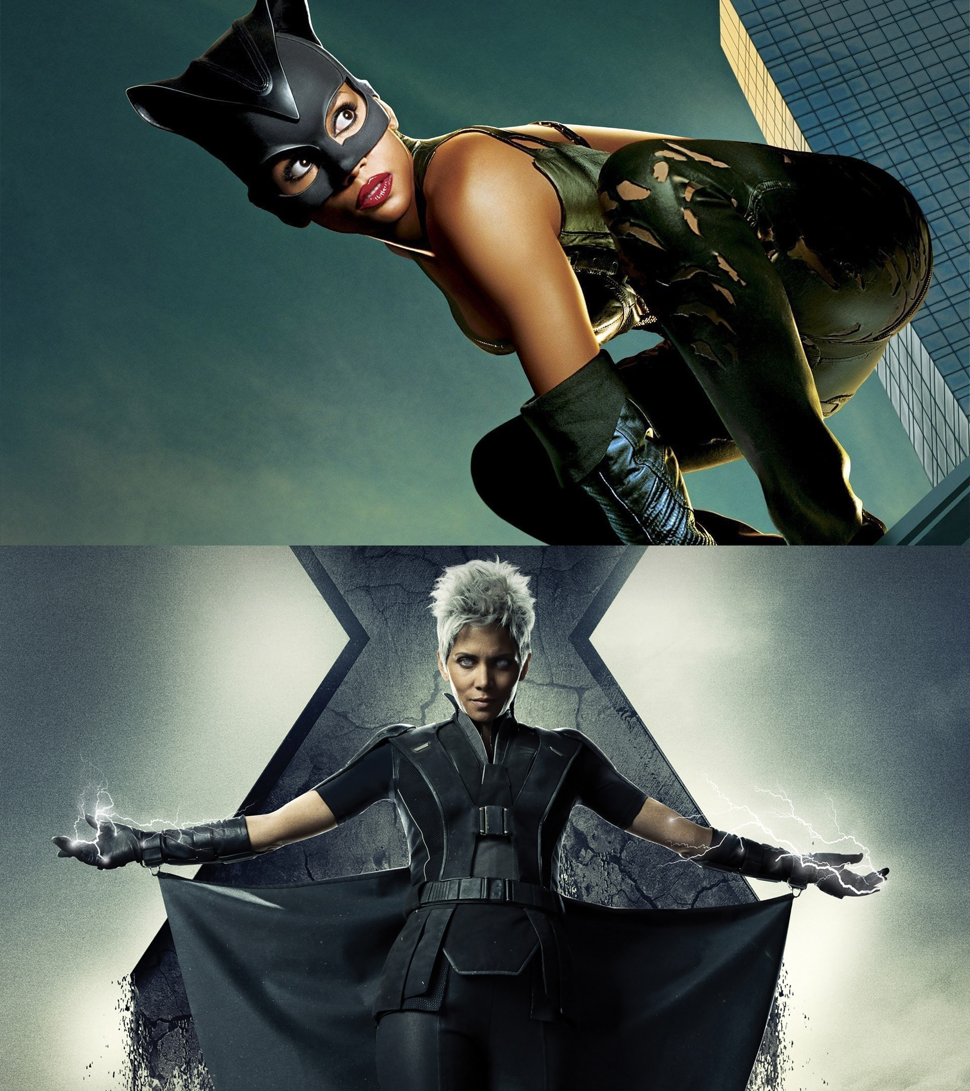 Halle Berry as Catwoman and Storm - Actors who have played more than one superhero