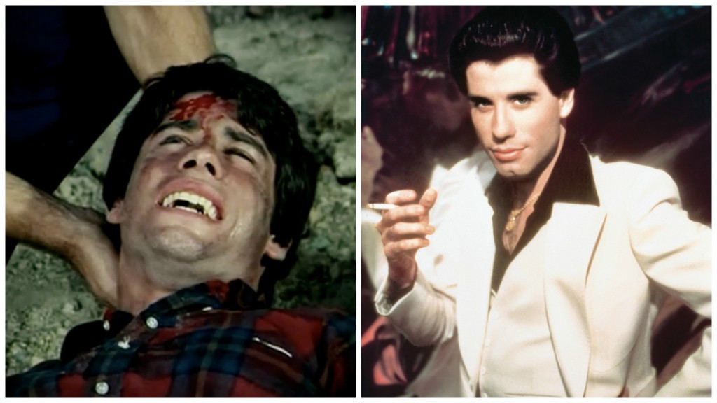 John Travolta in Emergency! and Saturday Night Fever