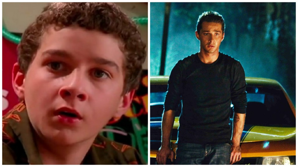 Shia LaBeouf in Even Stevens and Transformers