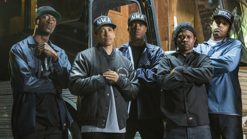 Straight Outta Compton stills from movies based on a true story