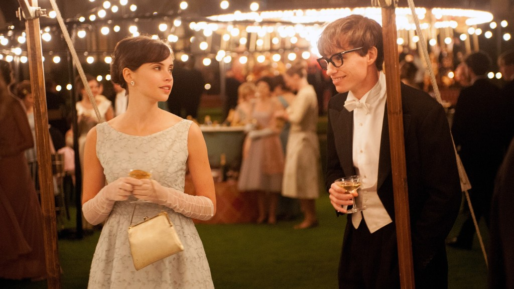 The Theory of Everything stills from movies based on a true story