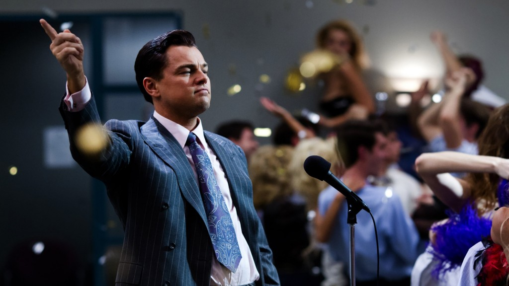 The Wolf of Wall Street stills from movies based on a true story