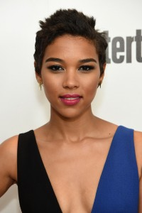 Alexandra Shipp at the New York screening of X-Men: Apocalypse held at Entertainment Weekly on Tuesday May 24, 2016.