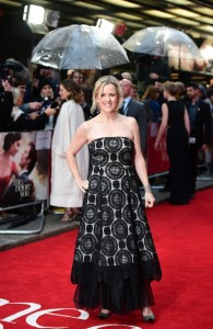 Jojo Moyes at the European premiere of Me Before You held at The Curzon Mayfair, London on Wedneday 25th May 2016.